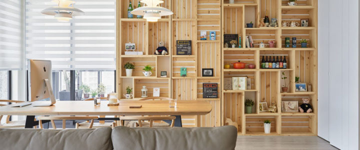 Dřevěné bedýnky oživí váš interiér, nebo zahradu