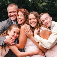 Svatba až po dětech