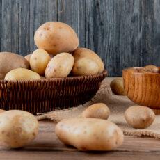 Různé odrudy brambor